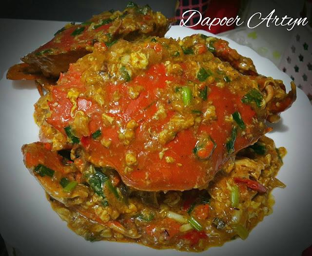 Resep Chili Crab (kepiting lumpur) Ala Dapoer Artyn