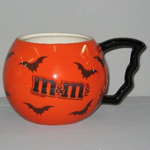 Order an M&M Halloween Bat Mug