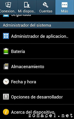 Cómo rootear Samsung Galaxy Core Advance GT-i8580