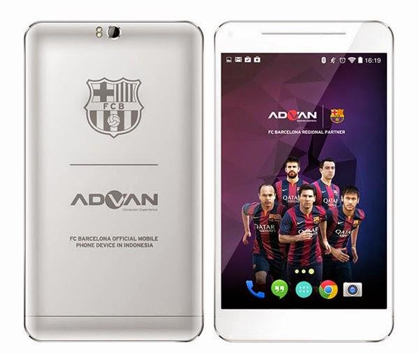 Tablet Advan Barca T1X Plus