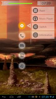 SAO Launcher - Tampilan Cantik dan Akses cepat ke Aplikasi