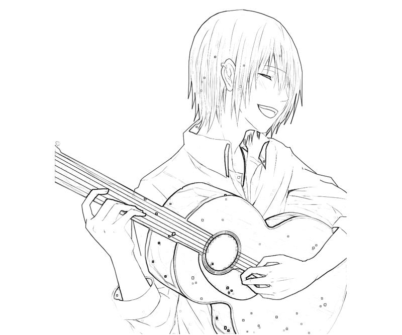 tatara-totsuka-guitar-coloring-pages