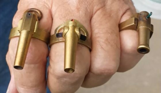 Meriam cincin
