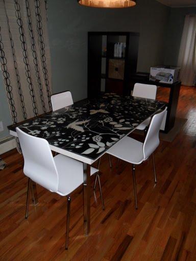 Ikea Poang Chair For Nursing ~ Vika Amon Glasholm Dining Table  IKEA Hackers  IKEA Hackers