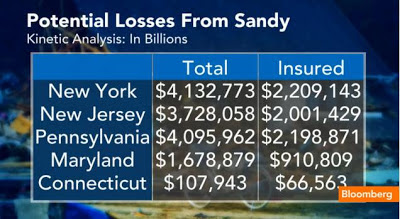 Potential Losses From Sandy