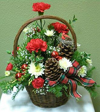 Christmas wallpapers and images and photos christmas - Decorating ideas for baskets ...