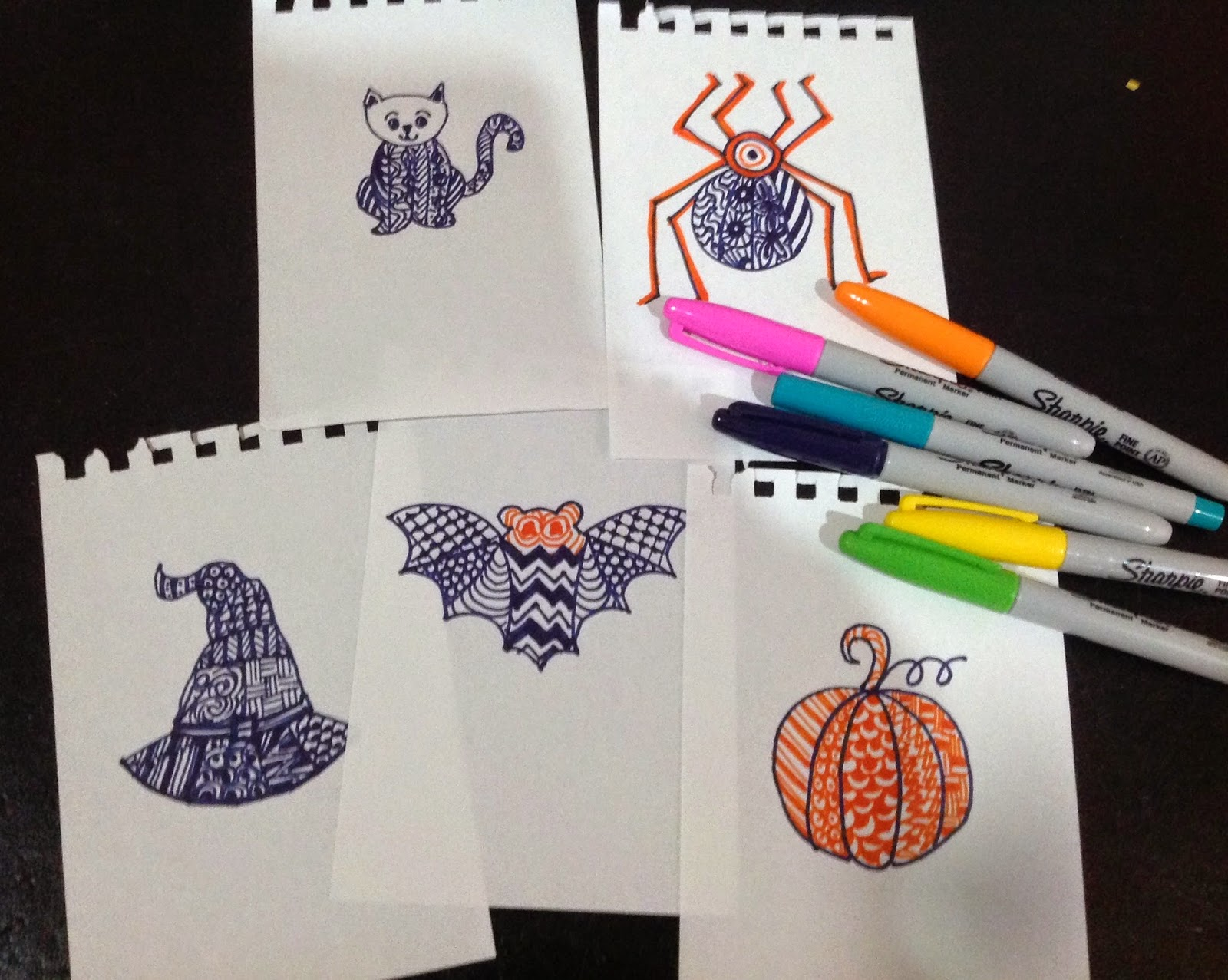 Zentangle Inspired Art For Kids
