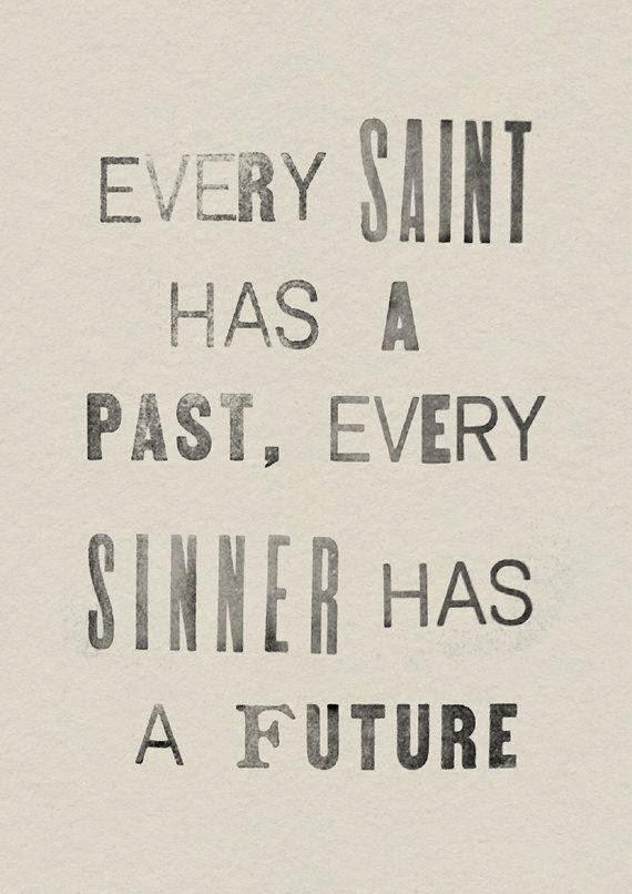 Saint and sinner