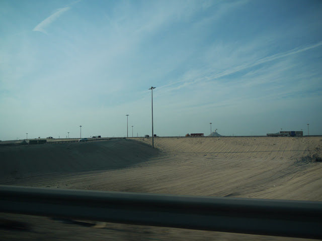 The round-about into Al-Khobar