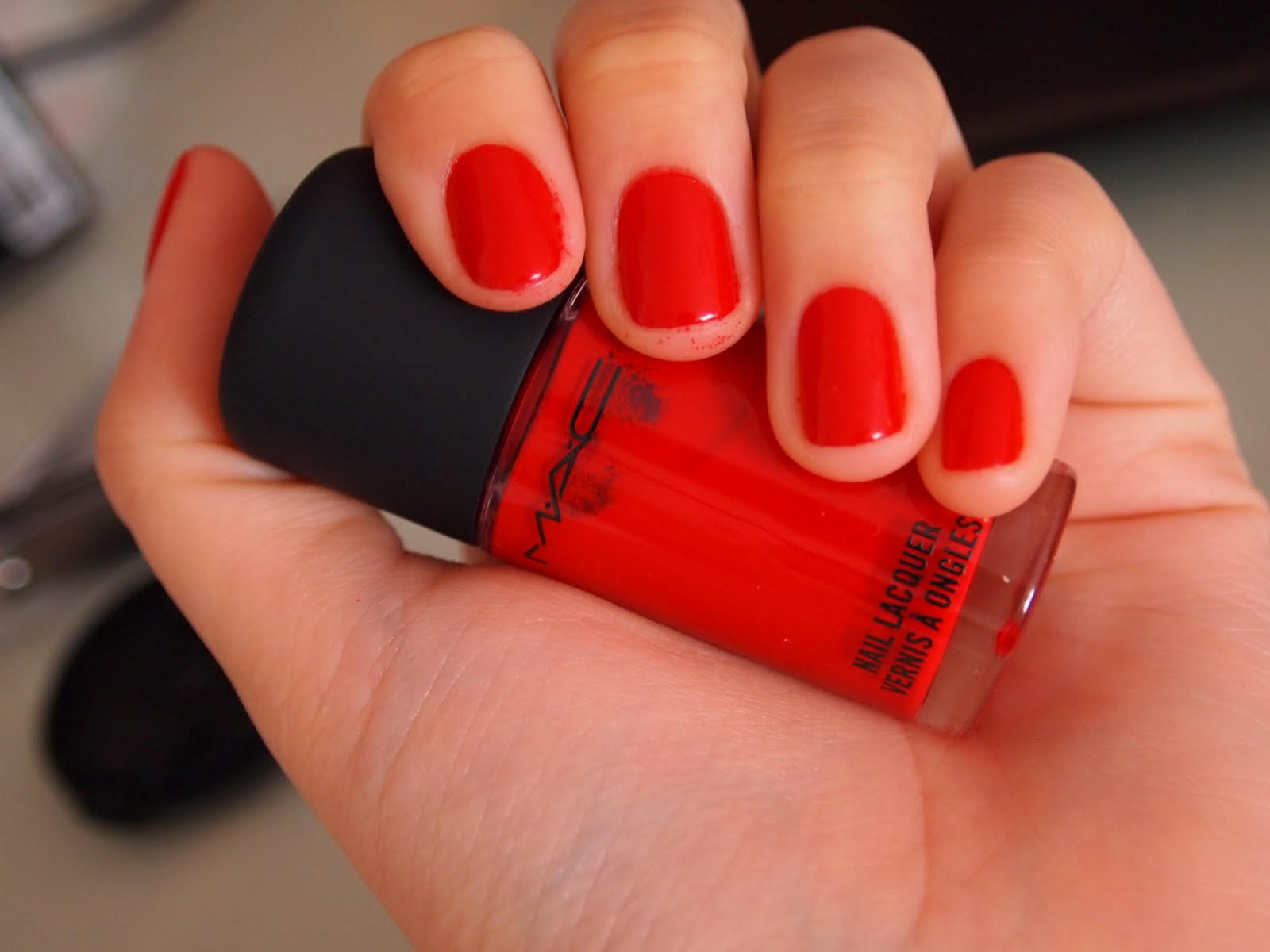 my goodies i want to share with you!: MAC nail polish: shirelle