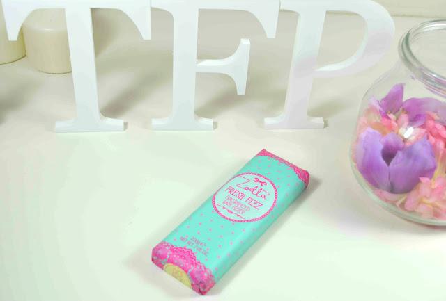 Zoella - Zoella beauty - Tutti fruity - bath fizz - fragranced bath frizz - fresh fizz bar - review - bath products