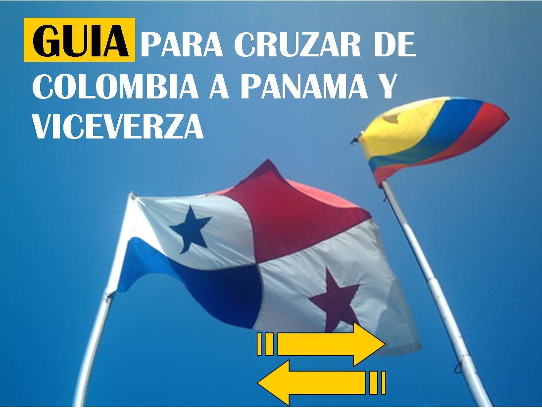 GUIA para Cruzar de Colombia a Panama