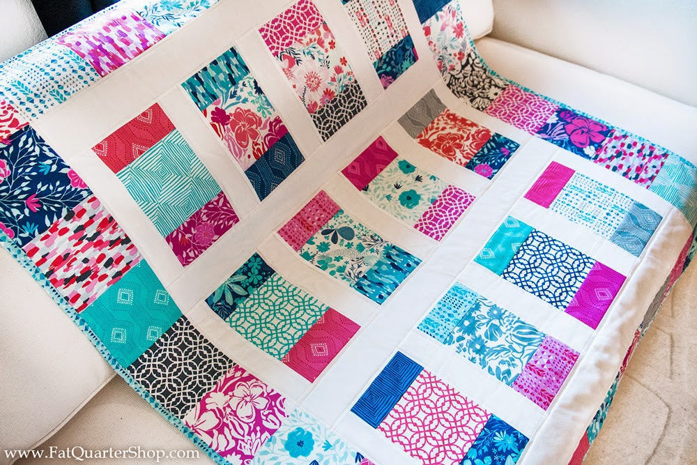 Fat Quarter Shop S Jolly Jabber Charm Box Free Quilt