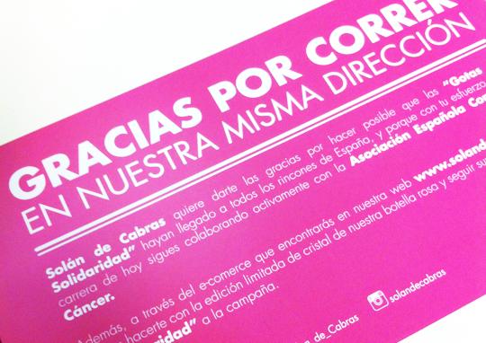 Solán de Cabras se viste de rosa