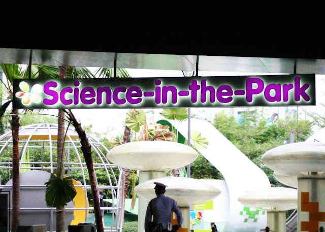 Science in the park at The Mind Museum