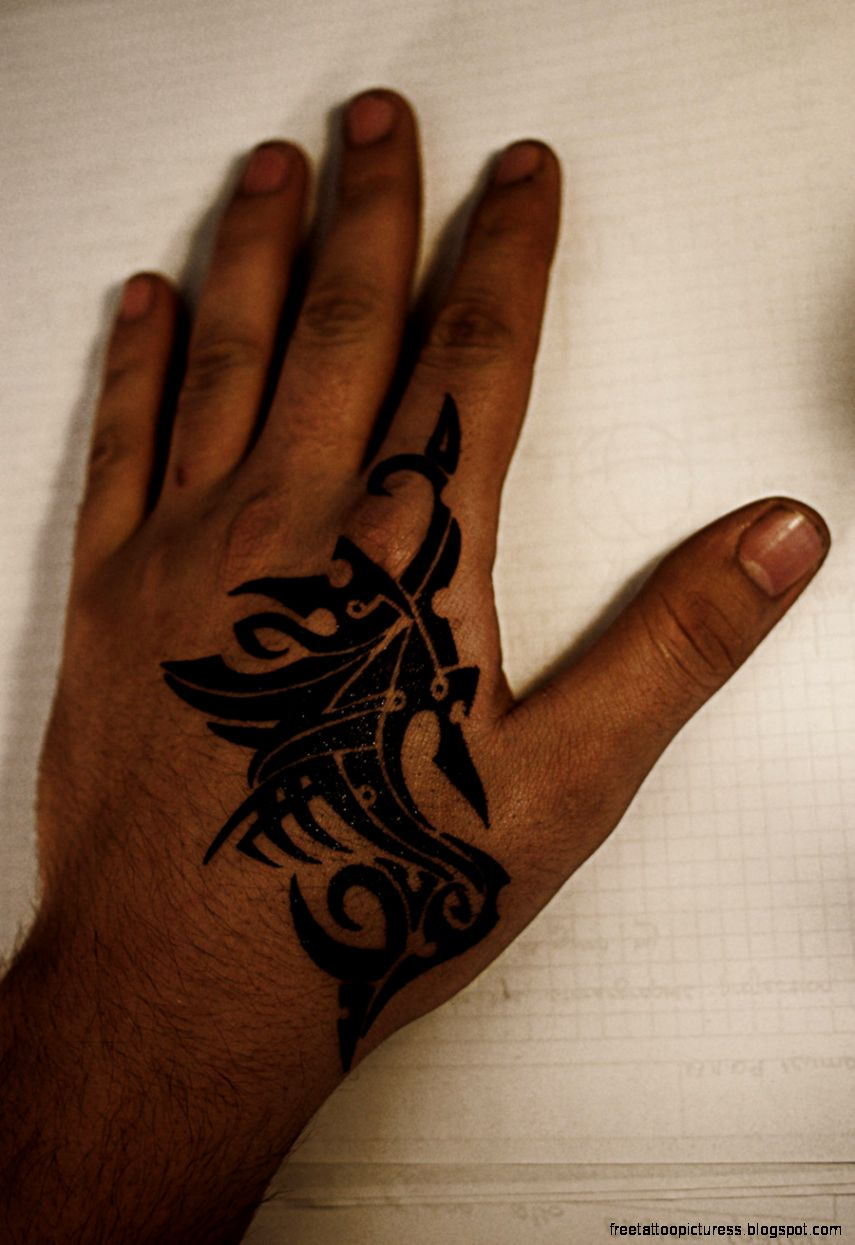 Hand Tatoo  Free Tattoo Pictures