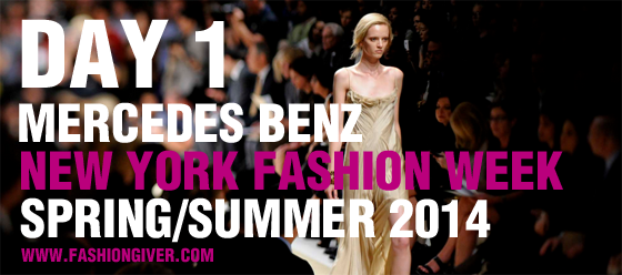 New York Fashion Week 2014 Day 1