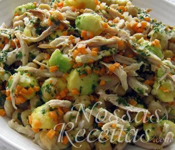 receita de salada muito saudável