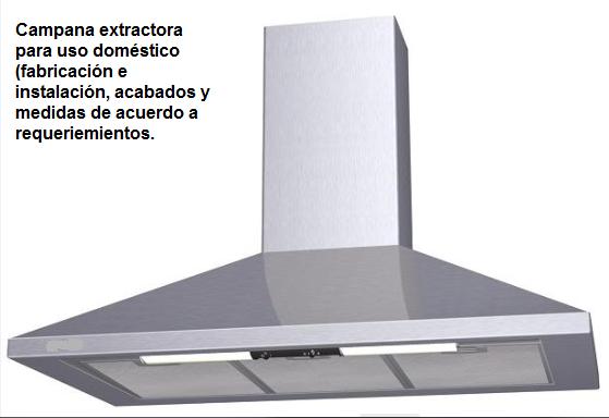 Ductos industriales lima peru campanas industriales - Campana extractora cocina industrial ...