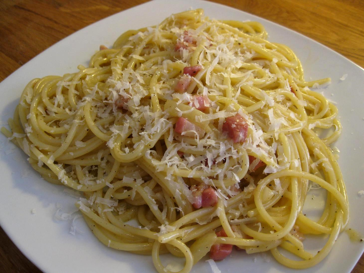 Pasta Alla Carbonara Recipes — Dishmaps