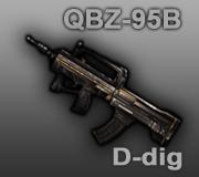 Pemberian Senjata Permanen di CSOnline rifle QBZ-95B