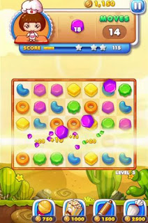 Screenshots of the Cookie mania for Android tablet, phone.