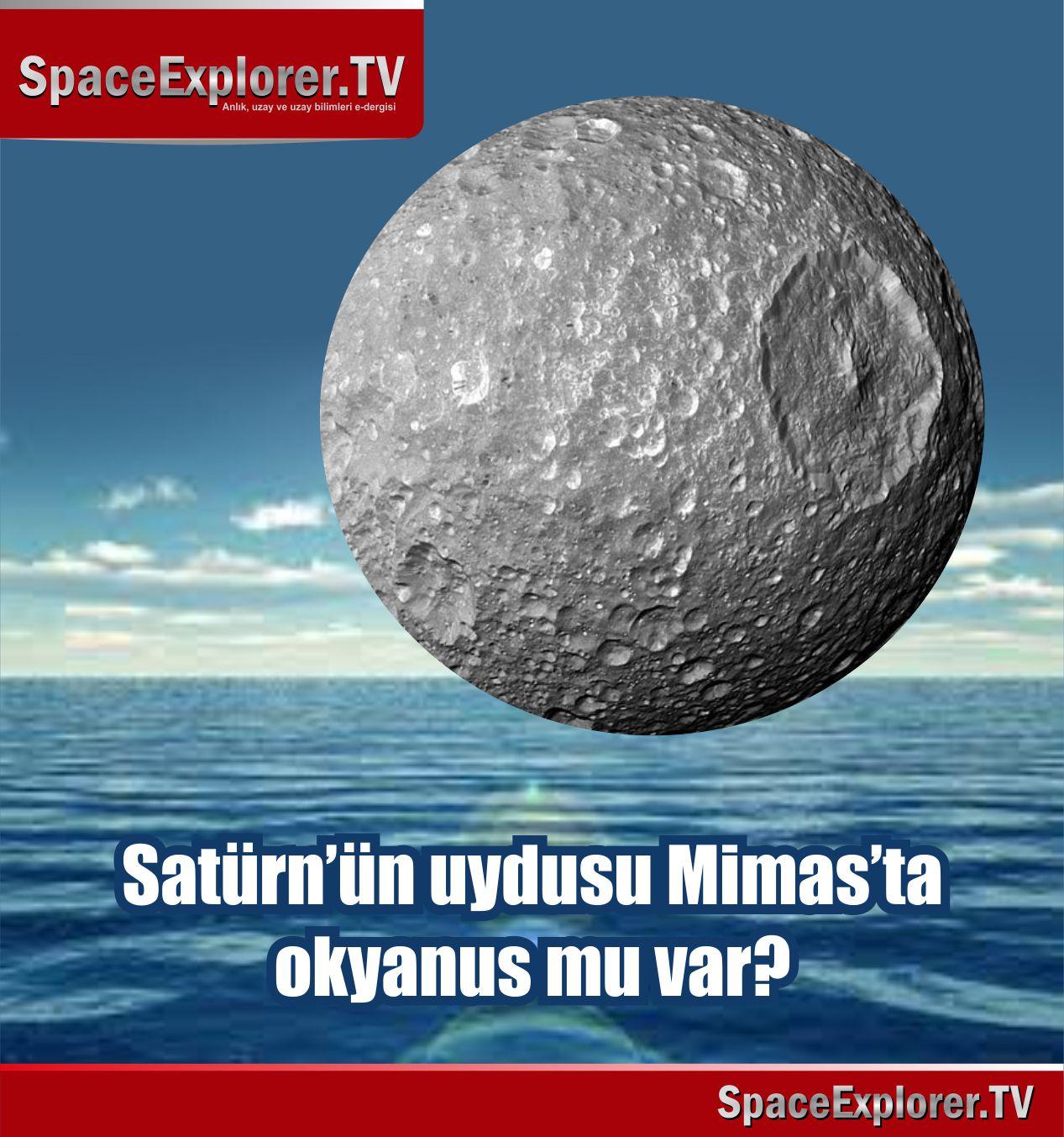 Uzayda hayat var mı?, Satürn, Satürn'ün uyduları, Su bulunan gezegenler, Cassini uzay aracı,
