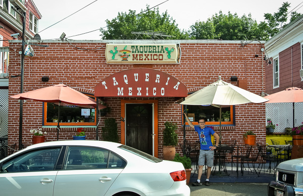 Mexican Food at Taqueria Mexico in Waltham Massachusetts