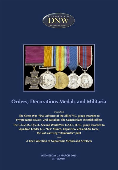 Orders, Dedcorations, Medals and Militaria