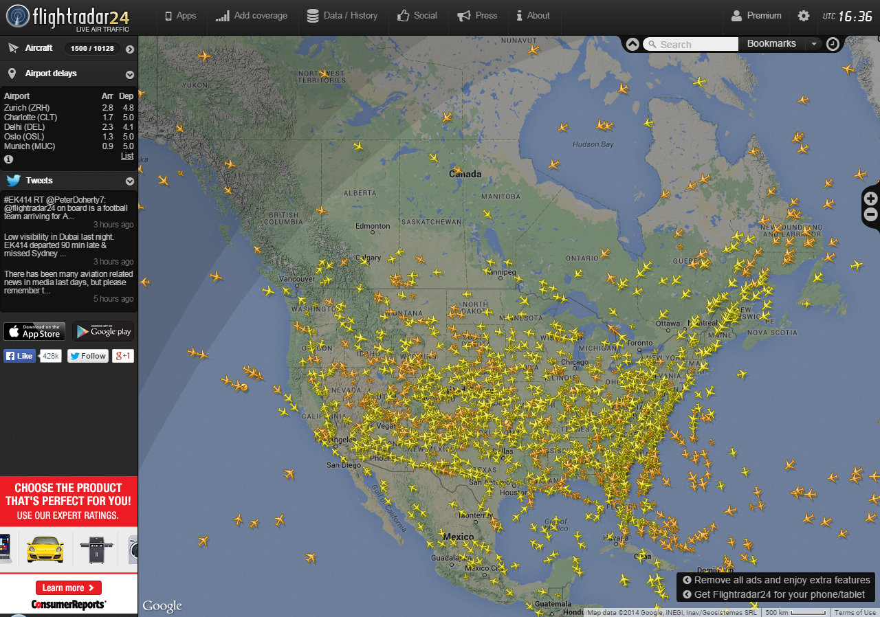 Adrian Oil And Gas WorldWide Flight Traffic And Global Climate - Us air traffic map