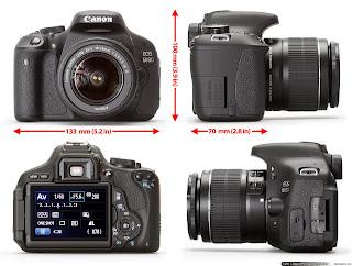 Harga Canon EOS 600D 2014