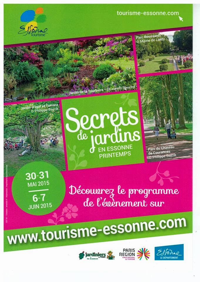 Breuillet nature secret de jardin 2015 le programme for Programme jardin