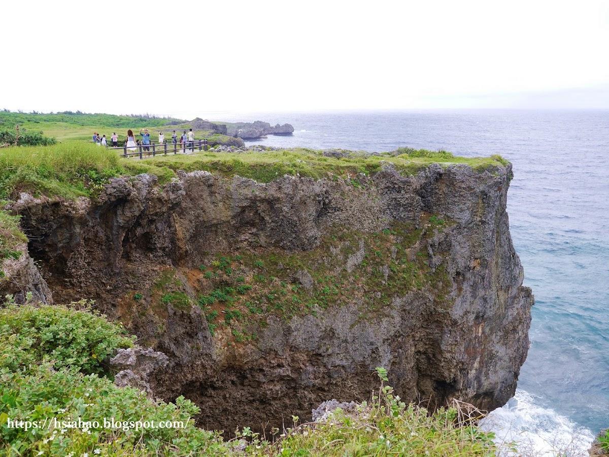沖繩-景點-中部-萬座毛-自由行-旅遊-Okinawa-Manzamo