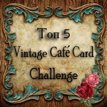 Vintage Cafe Card Challenge