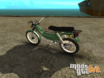 Shineray XY50Q para GTA San Andreas