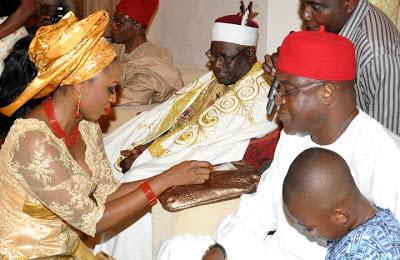 pamela marks traditional wedding