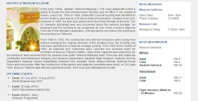 Lawatan ke Muzium Telekom & KL Tower bersama anak yatim