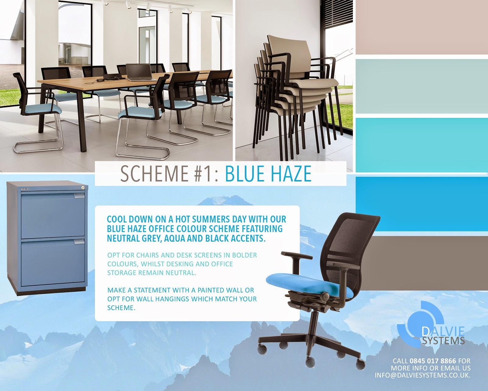 office colour scheme. Dalvie Systems - Company Blog: 5 Summer Office Colour Schemes You\u0027ll Love. Scheme