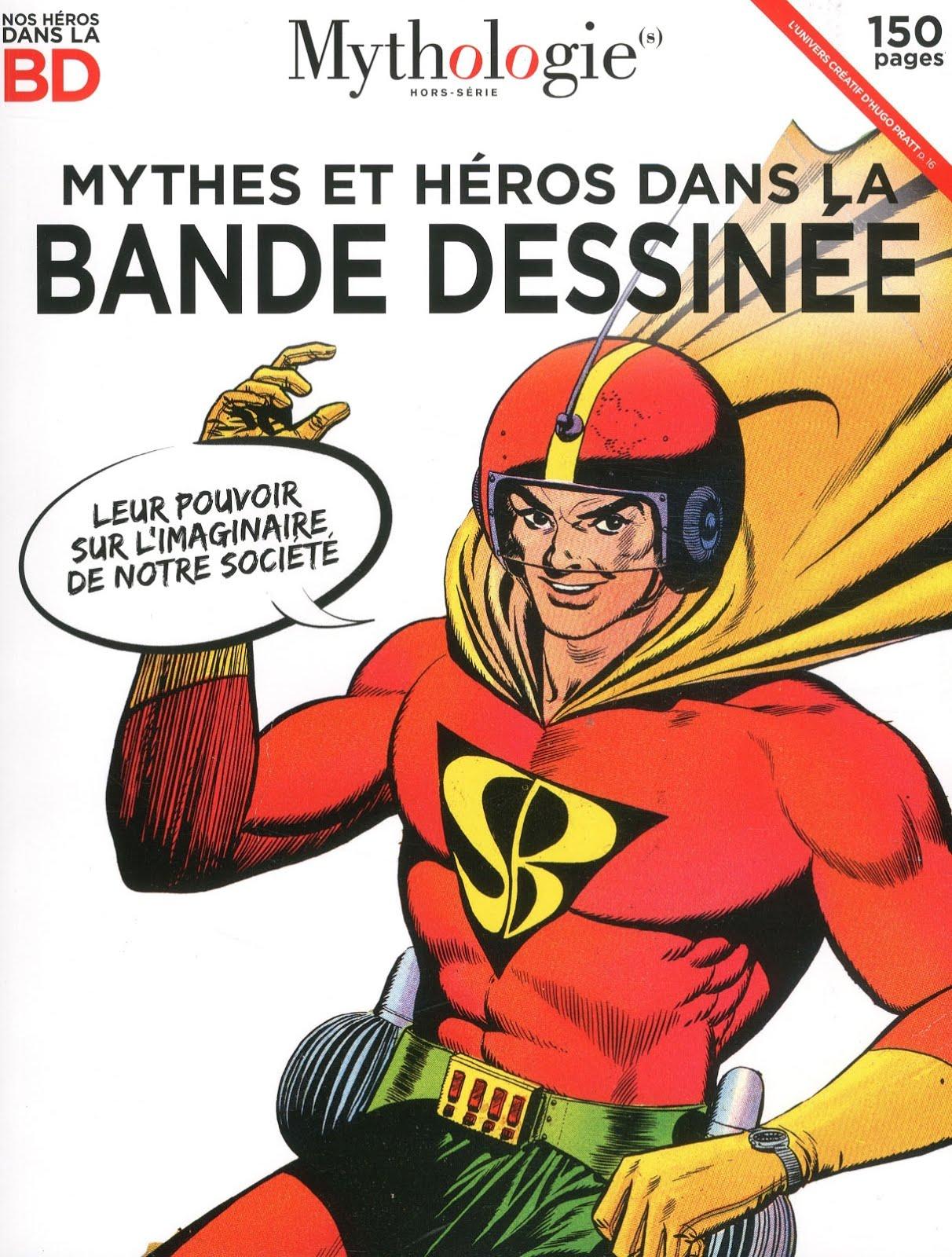 Mythes et héros dans la bande dessinée