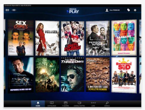 Arrivata applicazione per iPad su contenuti in streaming Premium Play