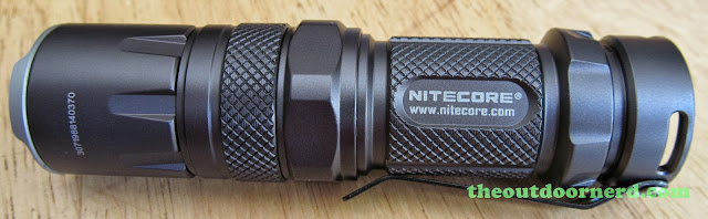 Nitecore SRT3 Defender EDC Flashlight: Side View