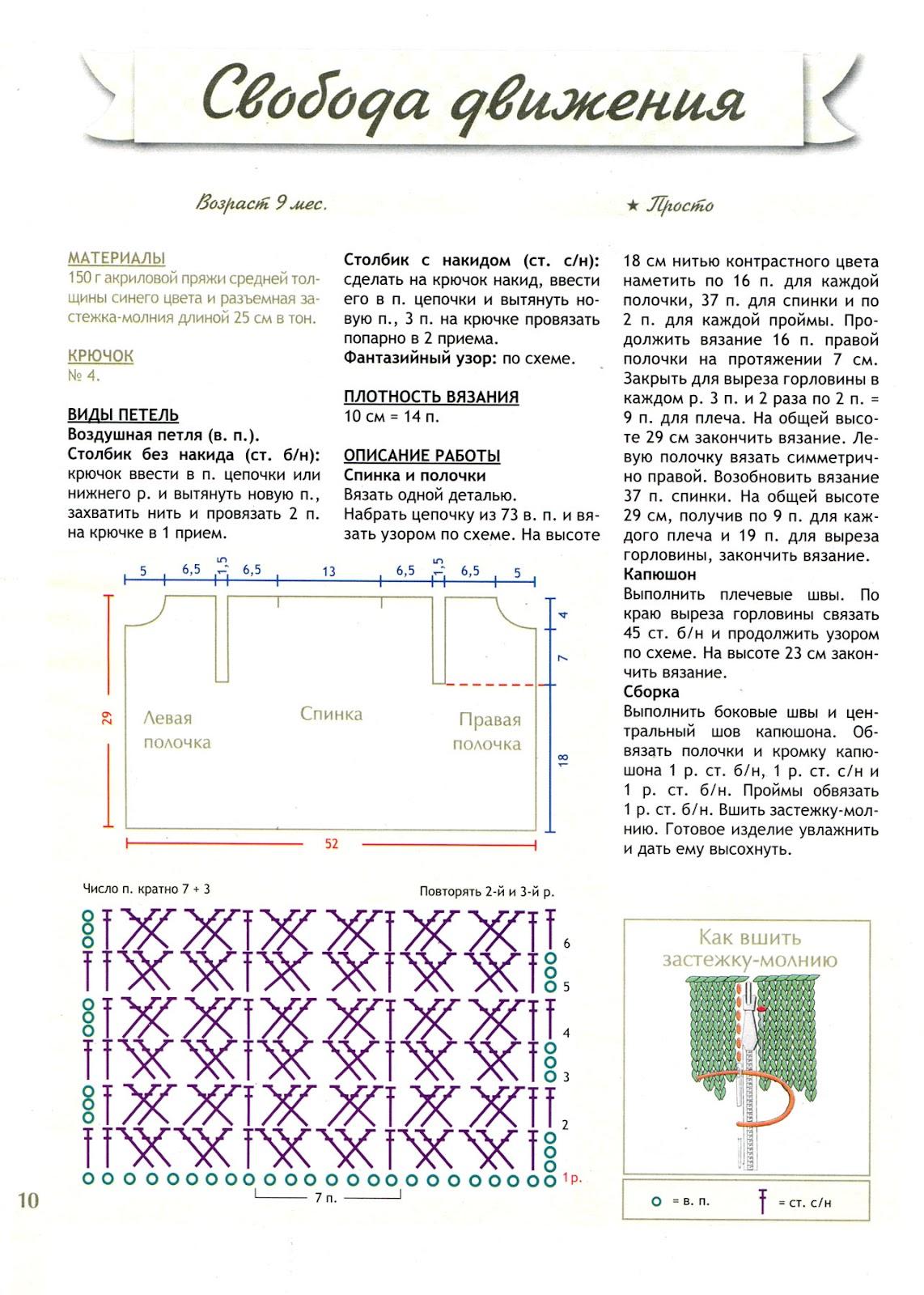 Схемы вязания с сайта парижанка