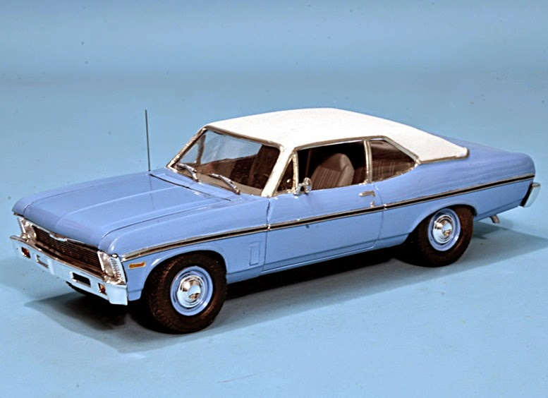 Scale Model News Crappy Blue Chevy Nova Beverly Hills