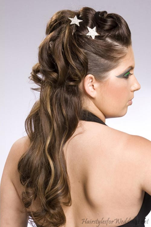 h hairstyles wedding hairstyles half up
