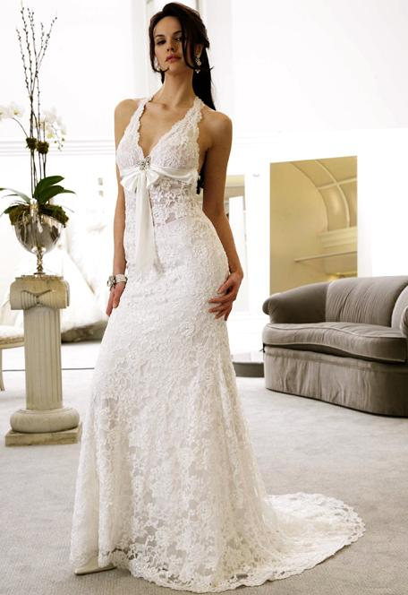 Fossils Antiques Sexy White Wedding Dresses - Sexy White Wedding Dress