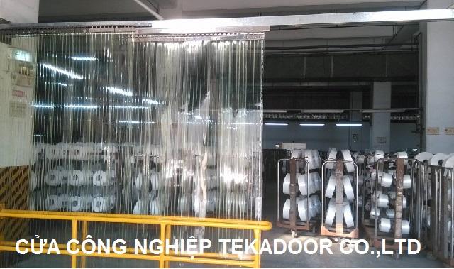 hệ cửa lùa màn nhựa pvc