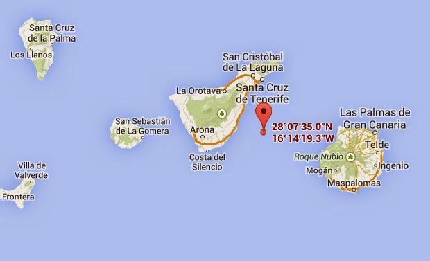 otro terremoto entre gran canaria y tenerife