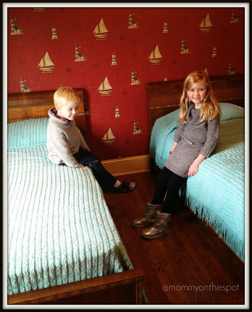 A Christmas Story House Ralphie and Randy's Bedroom Mommy on the Spot