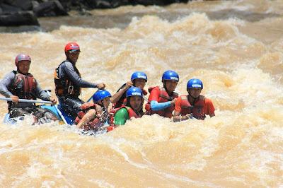 Rafting di Padas River SABAH