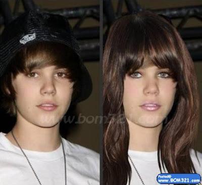 Jika Justin Bieber Jadi Wanita !